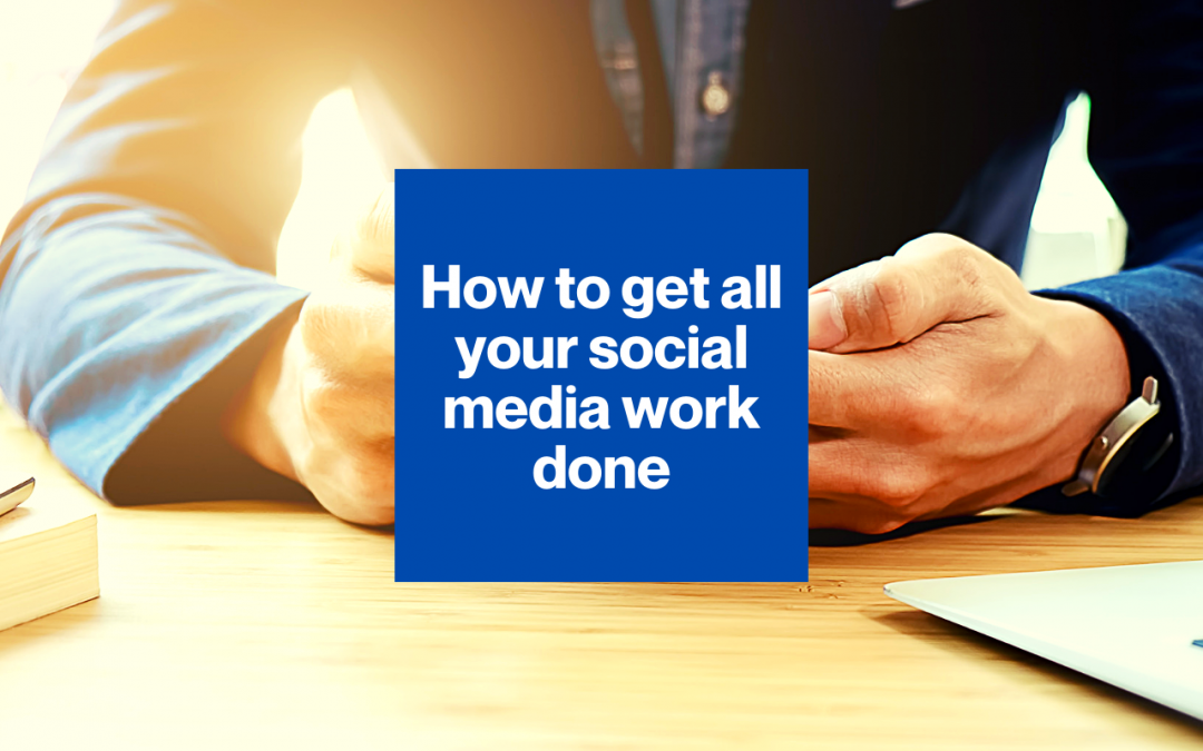 Don't let social media swallow you up!